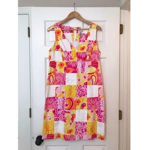 Lilly Pulitzer Kings Court Patch Dress NWOT